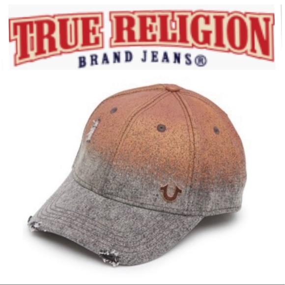 065235c3 True Religion Accessories   Metallic Baseball Cap   Poshmark